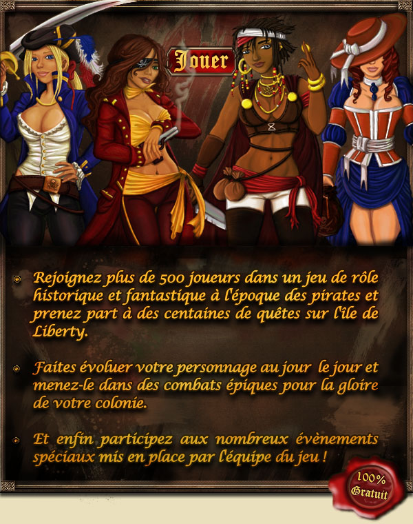 Inscription au jeu
